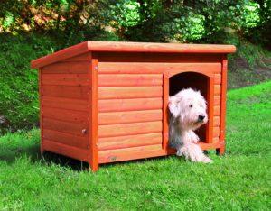 Trixie Natura Flachdach-Hundehütte